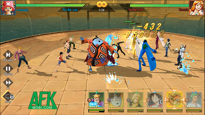 Hải Trình Huyền Thoại game One Piece 3D đầu tiên tại Việt Nam sắp đến tay người chơi 2