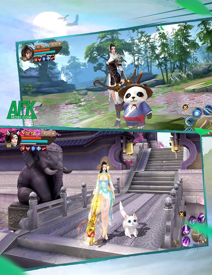 Khám phá Tuyệt Thế Vô Song Mobile game tiên hiệp đến từ cha đẻ Tân Thiên Long Mobile 6