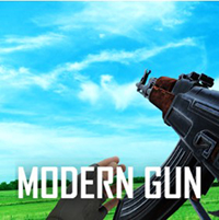 Modern Gun Shooting War Games