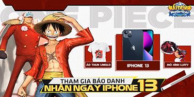 Game Hải Trình Huyền Thoại lấy iPhone 13 thời thượng ra làm quà tặng đua Top