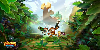 Titan Hunters game nhập vai săn quái co-op đồ họa khối vuông ngộ nghĩnh