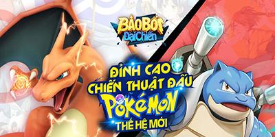Game nhập vai đấu Pokémon - Bảo Bối Đại Chiến Mobile ấn định ngày ra mắt