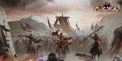 Mỗi ô đất trong game Chiến Vương Tam Quốc là một cuộc tranh giành đầy khốc liệt
